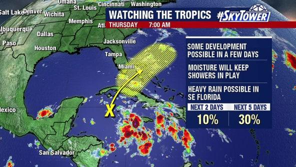 Forecasters watching Caribbean; Hurricane Epsilon should sideswipe Bermuda