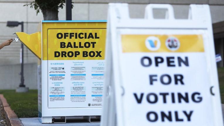 California ballot box