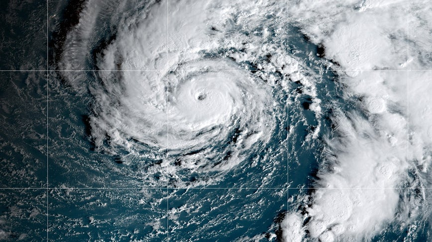 Hurricane Epsilon, 10th of a busy season, nears Bermuda
