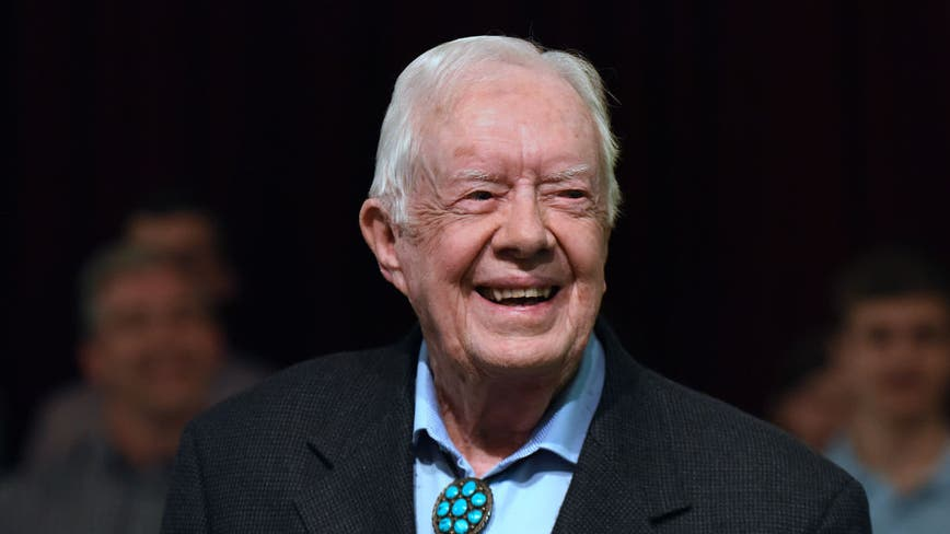 Former President Jimmy Carter celebrates his 96th birthday