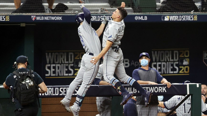 Rays tie World Series with Dodgers at 1 game each