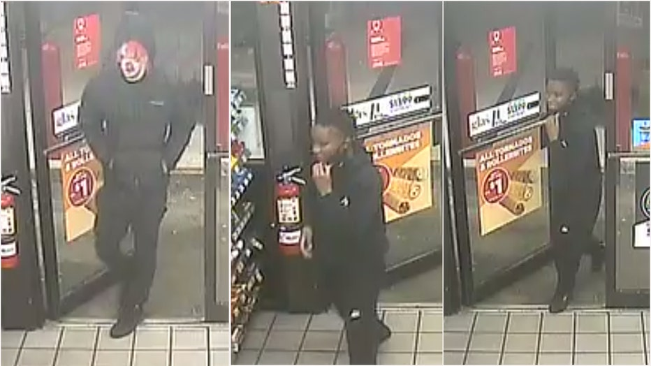 Suspects police are searching for in Circle K robbery