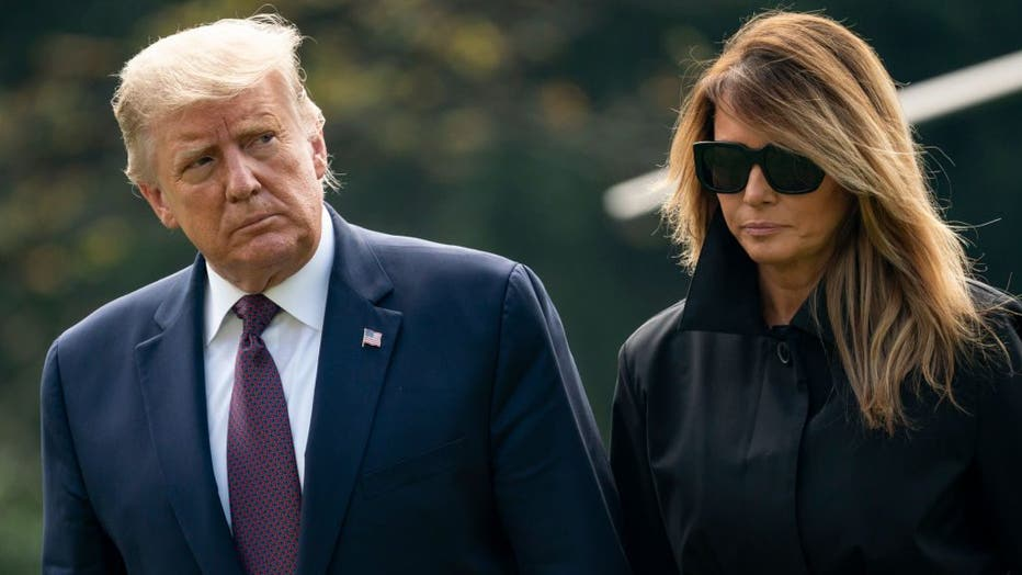 President And Mrs. Trump Return To The White House