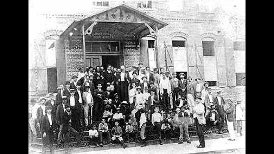 Old Ybor City social club photo