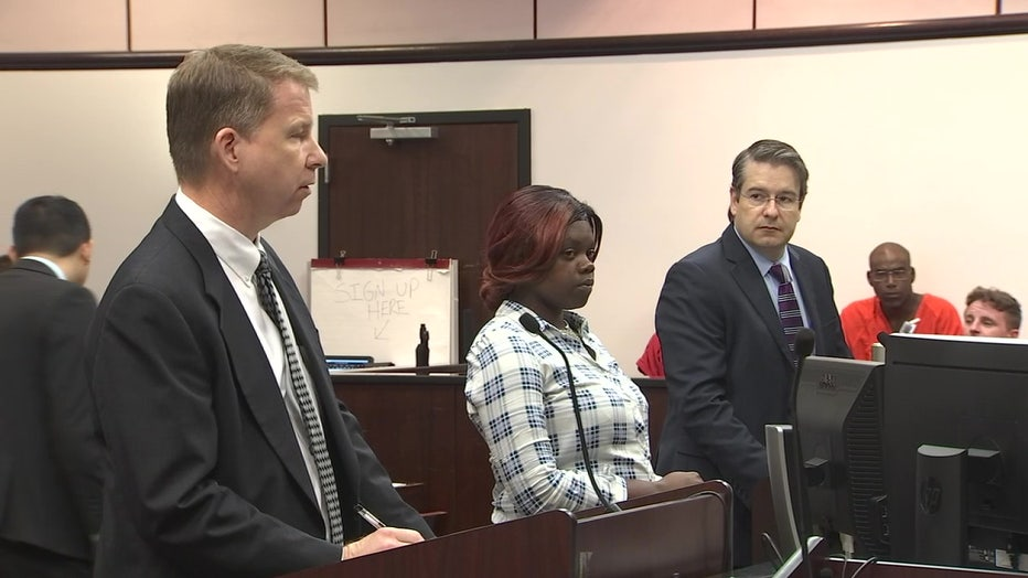 Eboni Wiley in court