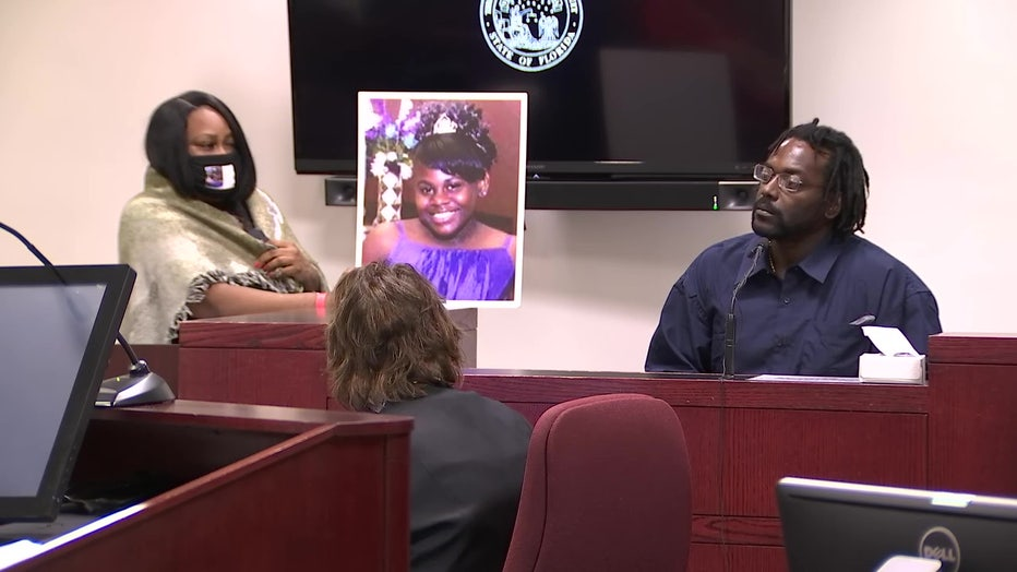 Felicia Williams father at trial
