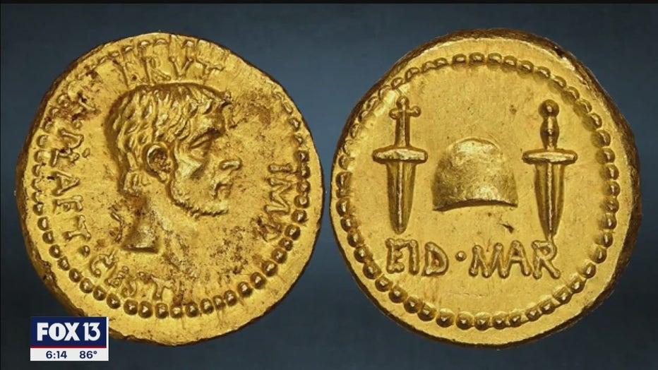 rare roman coin