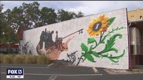 Mural artist inspired by 'The Alchemist'