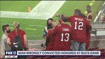 From wrongful conviction to Bucs game