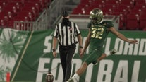 USF kicker not afraid to go out on a limb