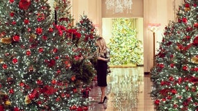 First lady Melania Trump unveils 'America the Beautiful' theme for Christmas at the White House