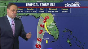 Tuesday evening tropical forecast