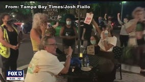 Friends who clashed with protesters outside St. Pete restaurant aim to clear their names
