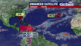 Tropical wave in Caribbean has high chance of developing: NHC