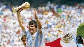 Soccer legend Diego Maradona passes away at age 60