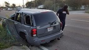 Photos show aftermath of hit-and-run crash along U.S. 41