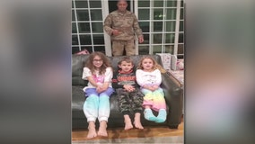 Military police commander returns from deployment to surprise family on Thanksgiving