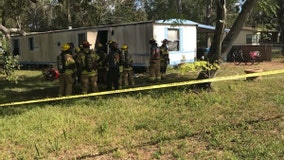 Hernando County Sheriff's Office investigating after 1 killed in manufactured home fire