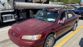 Florida man hauled stolen I-4 utility pole atop his sedan, troopers say