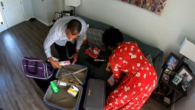 Tampa couple collecting items, packing suitcases for teens aging out of the foster care system