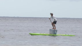 Tampa native to paddle400 miles to raise money for foster children