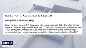 Amendment 2 passes, increasing Florida's minimum wage to $15