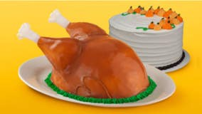 Baskin-Robbins brings back 'Turkey Cake' with ice cream stuffing and sugar-cone legs