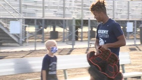 Kid winning against cancer inspires Gaither Cowboys to 'Do it for Ryan'