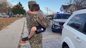 Missouri deputy returns from Afghanistan deployment, surprises son in emotional reunion