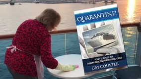 Author details first months of pandemic spent on cruise ship, in quarantine