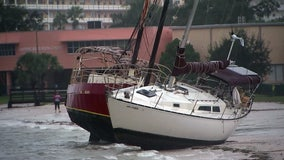Pinellas County wakes up to flooded areas, damaged boats as Eta moves away from the region