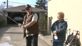81-year-old man uses heirloom shillelagh to chase away burglars posing as utility workers