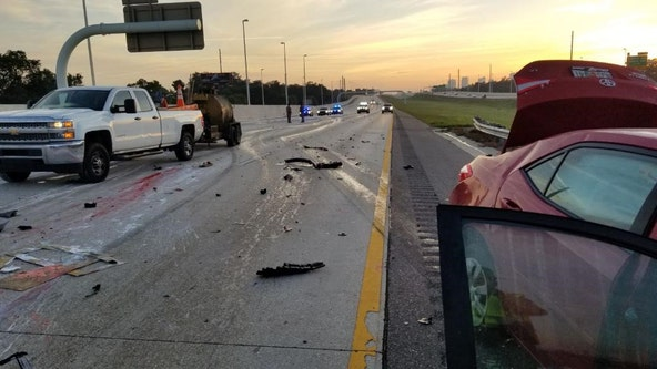 FHP: Wrong-way driver killed in crash on I-275