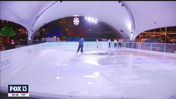 Winter Village, outdoor ice rink returns in downtown Tampa
