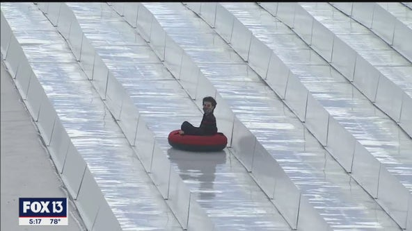 Florida's first snow park officially opens in Pasco County