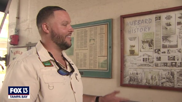 Hubbard's Marina history includes FOX 13