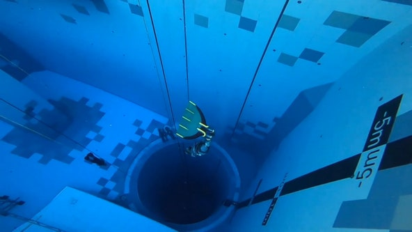 With depth of 148 feet, world's deepest dive pool opens to visitors