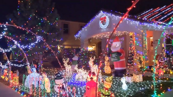 New Mexico home transforms into Christmas wonderland with 'thousand' of lights