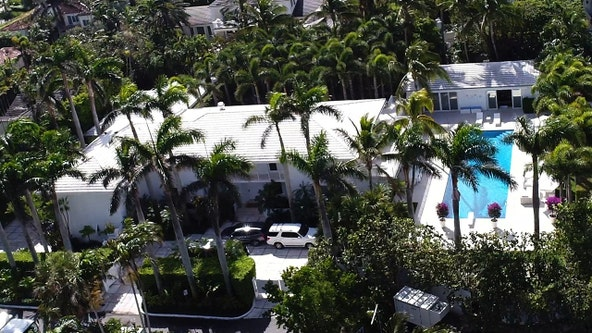 Demolition begins on Jeffrey Epstein's former Palm Beach mansion