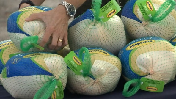 Tampa law firm continues turkey giveaway tradition