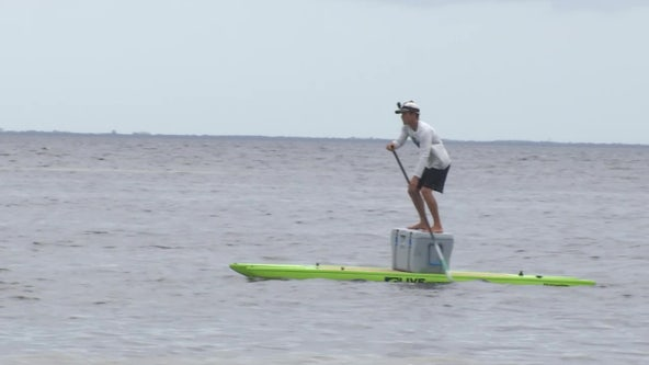 Tampa native to paddle 400 miles to raise money for foster children