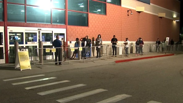 Black Friday opens to smaller crowds, shoppers shift to online purchases
