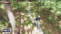 Drone Zone: Mountain biking in Morris Bridge Wilderness Park