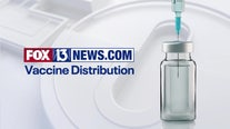 COVID-19 vaccine distribution information in Tampa Bay area counties