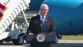 Vice President Pence presents 'Cape Canaveral Space Force Station'