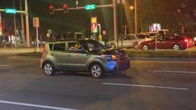Two teen pedestrians critically injured in Hudson crash