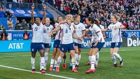 US women's national soccer team settles inequity claim