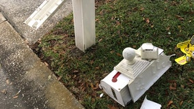 Vandals damage nearly 40 mailboxes in Clearwater