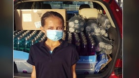 5th-grader donates water bottles for entire school after fountains shut off due to COVID-19