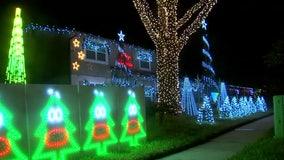 Temple Terrace man shines bright light on neighborhood with Christmas display